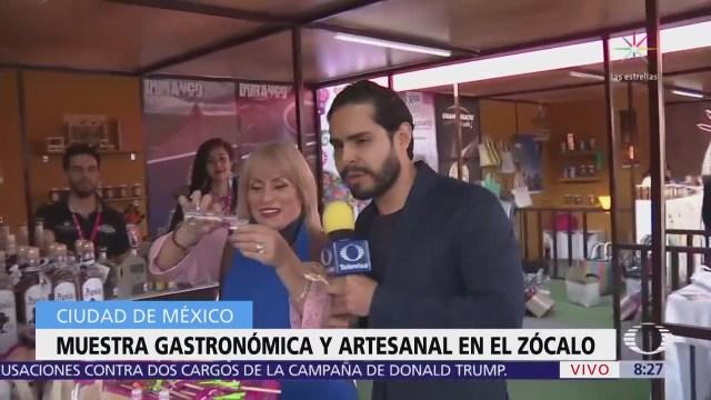 Festival 'México en el corazón de México' en el Zócalo CDMX