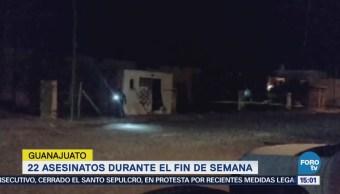 Fin Semana Violento Guanajuato