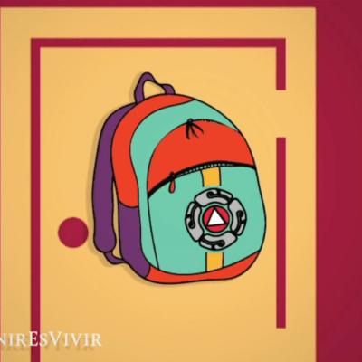 Todo lo que debe incluir tu mochila de emergencia en caso de sismo
