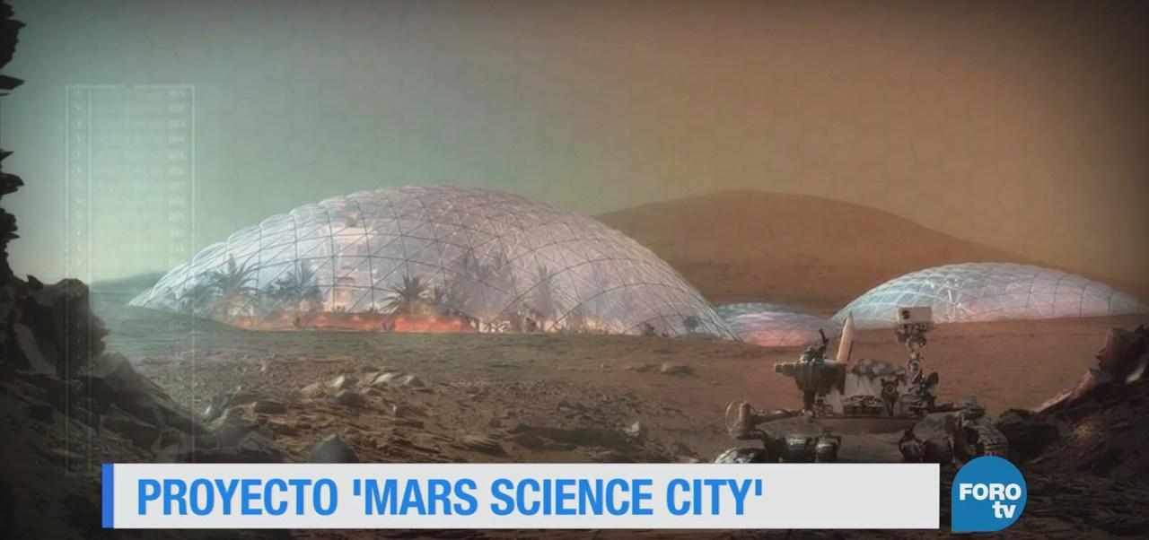 Proyecto Mars Science City Proyectos Arquitectura