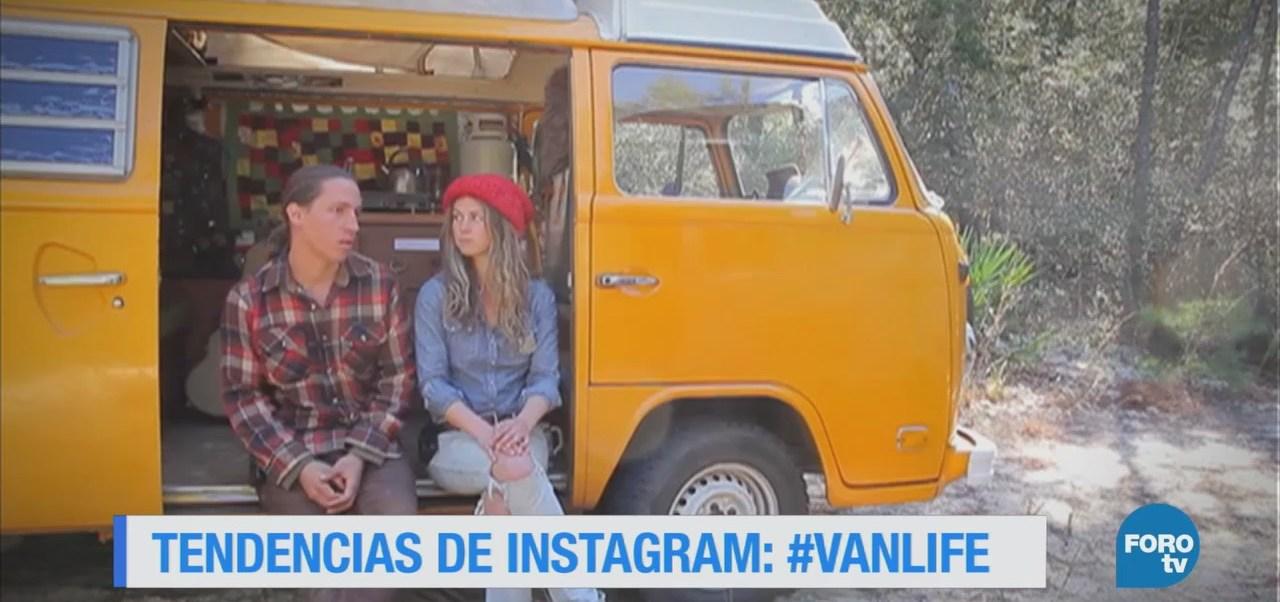 El movimiento #VanLife, difundido en la red social Instagram