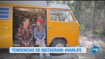 El movimiento #VanLife, difundido en la red social Instagram