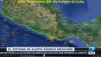 Cómo Funciona Sistema Alerta Sísmica Mexicana
