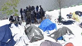 Ola de frío causa dos muertos en Francia; termómetros llegarían a -10