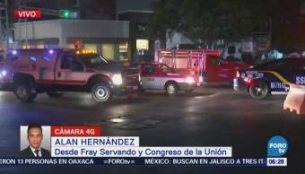 Fray Servando y Congreso de la Unión presentan buen avance vehicular