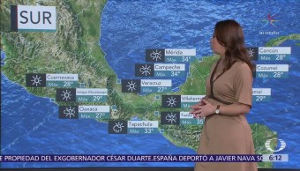 Frente frío 31 ocasionará tormentas en el norte y noreste del país