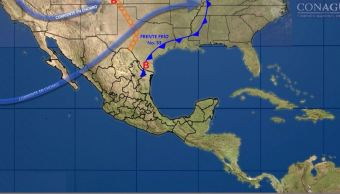 Frente frío 33 provoca bajas temperaturas y fuertes vientos en Chihuahua