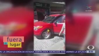 Fuera de Lugar: Buscan a #LadyParquímetros en Pachuca