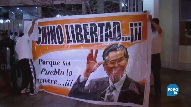 Fujimori regresa al banquillo, pero no a la cárcel