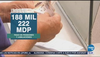 Gasto por pensiones supera ingresos de IMSS e ISSSTE