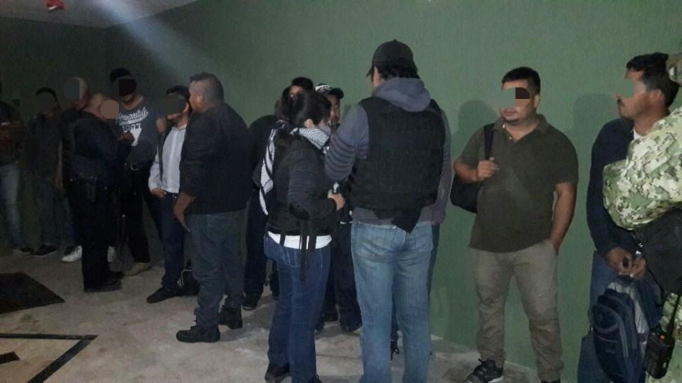 aseguran a migrantes de Honduras, Guatemala y El Salvador en matamoros