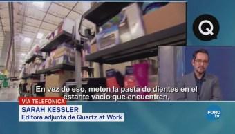 Genaro Lozano entrevista a Sarah Kessler