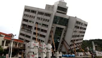concluyen los rescates tras el terremoto en taiwán