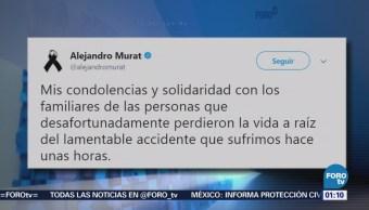 Gobernador Oaxaca Lamenta Pérdidas Humanas Accidente Helicóptero