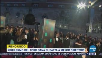 Guillermo Del Toro Gana Bafta Mejor Director