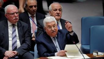 Hospitalizan Estados Unidos presidente palestino Mahmoud Abbas