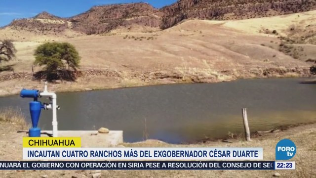 Incautan 4 ranchos más a César Duarte