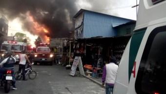 se incendia bodega refacciones automotrices gam