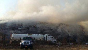 pepenadores provocan incendio tiradero yautepec morelos