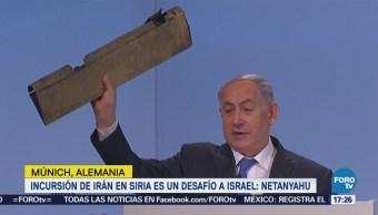 Incursión Irán Siria Desafío Israel Netanyahu