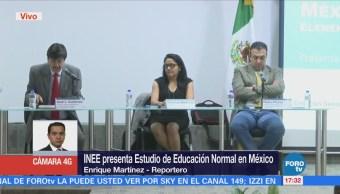 INEE presenta libro sobre la formación de docentes en México