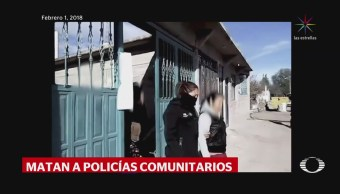 Integrantes de 'Los Tequileros' asesinan a cuatro policías comunitarios