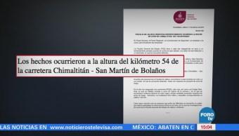 Investigan enfrentamiento que dejó 6 muertos en Jalisco