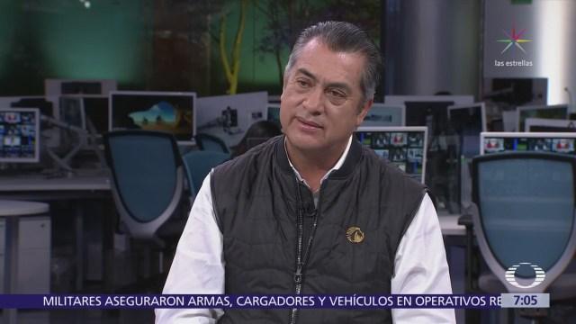 Jaime Rodríguez Calderón 'El Bronco' en el estudio de Despierta con Loret