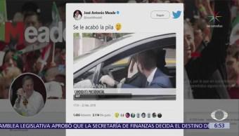 José Antonio Meade y Ricardo Anaya se trollean en redes sociales