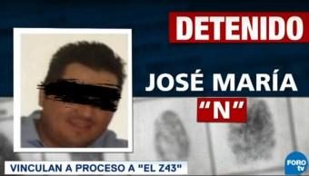 Vinculan a proceso a José María Guízar, 'El Z-43'