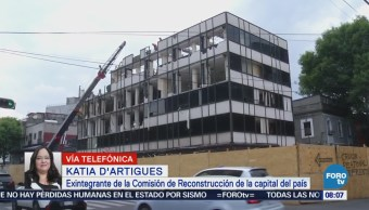 Katia D'artigues Explica Renunció Comisión Reconstrucción Cdmx
