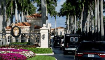 Detienen a conductor de caravana presidencial de Trump por portar arma