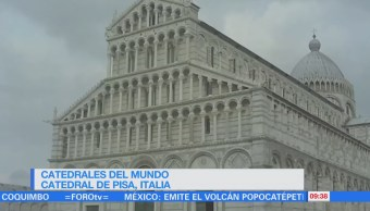 La catedral de Pisa en Italia