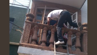 detienen flagrancia ladrones casa colonia campestre churubusco