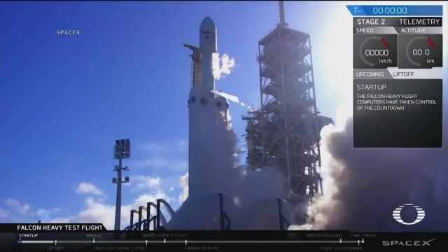 Lanzan el cohete más potente de las últimas cuatro décadas