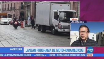 Lanzan Programa Moto-Paramédicos Zacatecas