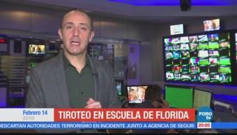 Las noticias, con Julio Patán: Programa del 14 de febrero de 2018