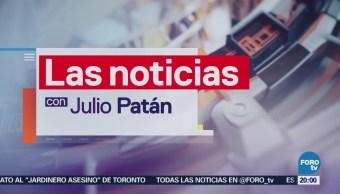Las noticias, con Julio Patán: Programa del 23 de febrero de 2018