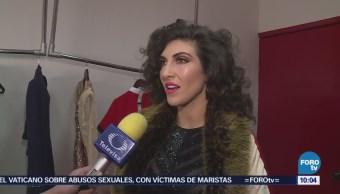 #LoEspectaculardeME: Ana Victoria festeja en el escenario 10 años de carrera