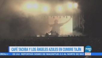 #LoEspectaculardeME: Café Tacvba y Los Ángeles Azules presentes en Cumbre Tajín 2018