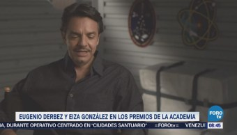 #LoEspectaculardeME: Eugenio Derbez y Eiza González serán presentadores en los Oscar