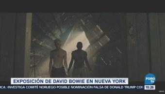 #LoEspectaculardeME: Todo listo para la exposición de David Bowie en Nueva York