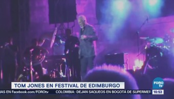 #LoEspectaculardeME: Tom Jones encabeza Festival de Edimburgo