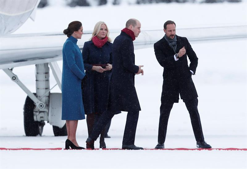 Duques de Cambridge realizan visita oficial a Noruega