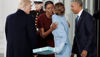 Michelle Obama revela qué le regaló Melania Trump