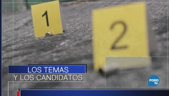 Los temas sustanciales y los candidatos
