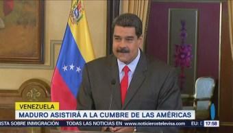 Maduro afirma que irá a Cumbre de las Américas en Perú