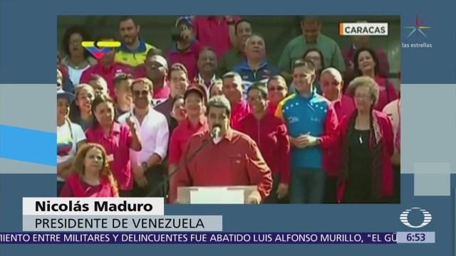 Maduro canta 'Despacito' para celebrar candidatura a la reelección presidencial