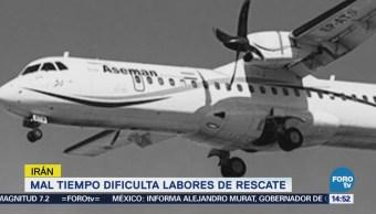 Mal Tiempo Dificulta Labores Rescate Tras Accidente Avión Irán