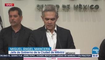 Mancera Presenta Iniciativa Gobierno Sobre Fondo Vivienda